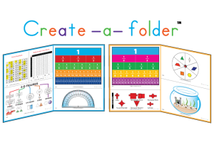Sample usage of Create-a-Folder Math for customized study folders