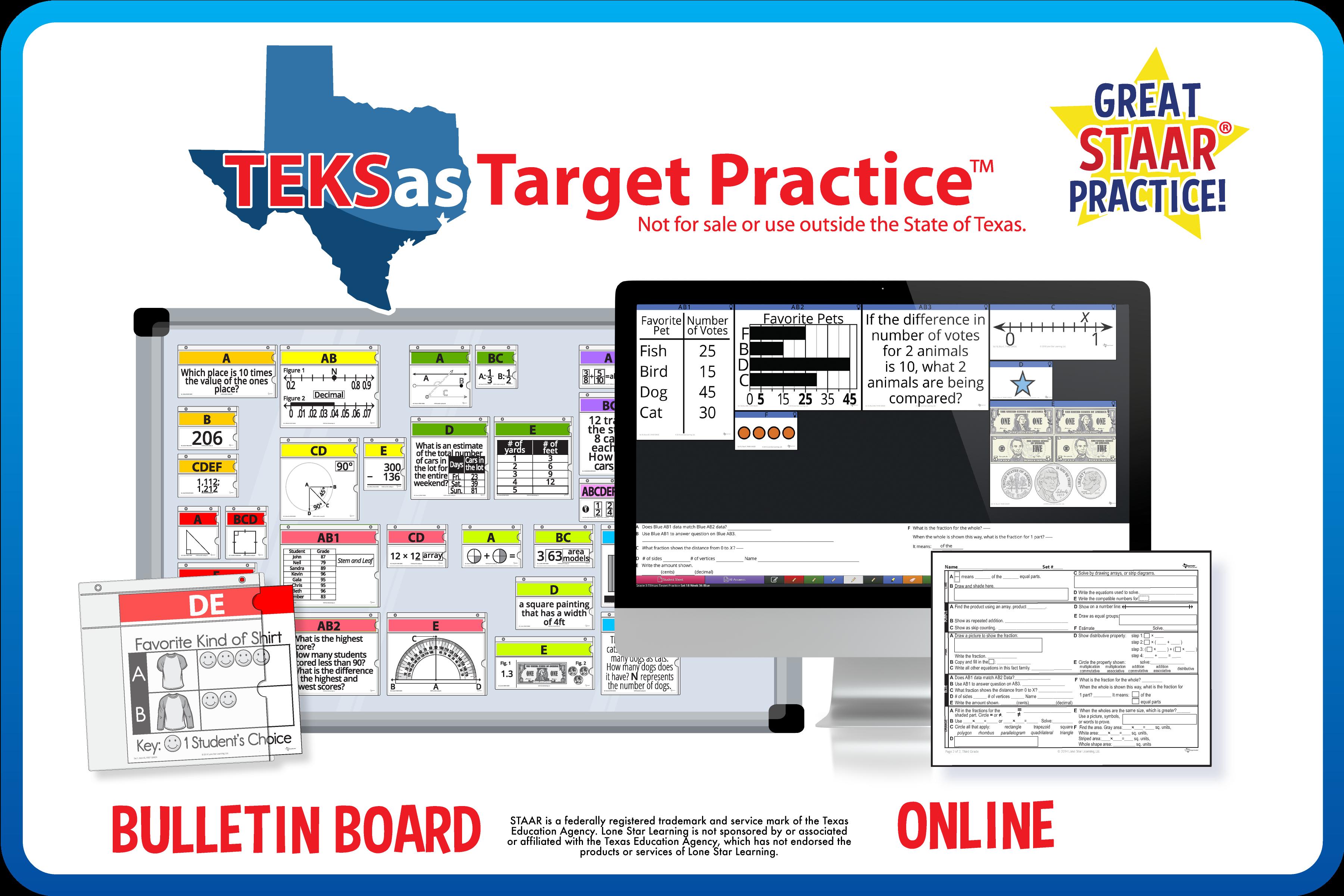 TEKSas Target Practice™