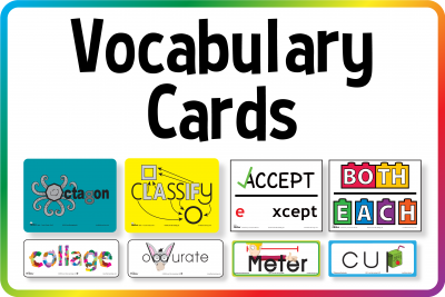 Get the Picture Vocabulary Cards