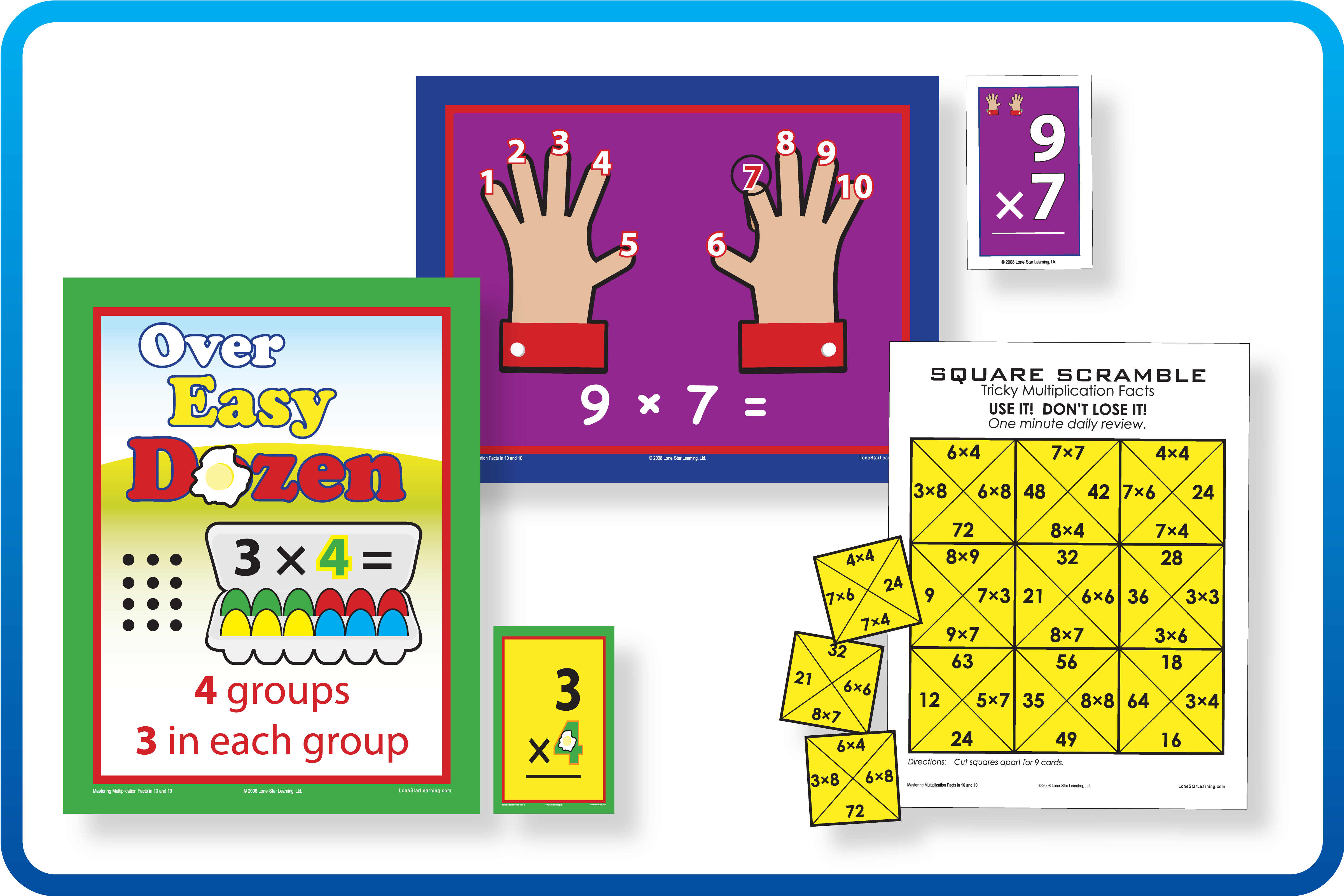 Mastering Multiplication Facts in 20 and 20™ – Lone Star Learning
